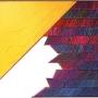 1982, acrylic and cotton yarn on panel (priv.coll.)
