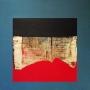 1975, frammento, cm 90x90, olio e acrilico su tela (priv.coll.)