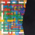 2007, Interrupted labyrinth (016/9), 40x40 cm, acrylic on canvas