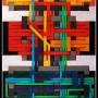 2008, robot 10, cm 70x120, acrylic on canvas