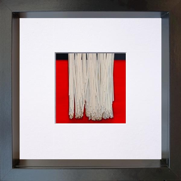 2020, Hanging (appeso), digital processing, 11x11 cm, single copy on paper