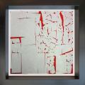 2020, TERRAE MOTUS  (EARTHQUAKE),digital processing, 20x20 cm, single copy on watermarked Fabriano paper, 100x100 cotton