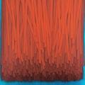 2018, Hanging, 80x80 cm, acrylic on linen canvas