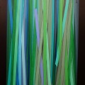 Accumulation, cm 80 x 120,  Acrylic color on linen canvas