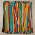Accumulation, cm 80 x 80,  Acrylic color on linen canvas