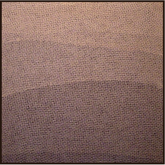 1976, territory, cm 80x80, fishing nets on canvas