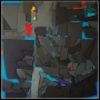 2012, terrae motus (1), cm 80x80, acrylic on linen canvas