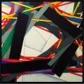 Power pole 16, cm 150 x 150, acrylic color on canvas