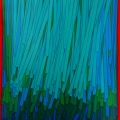 Hanging (3) cm 100 x 120, acrylic  color on canvas